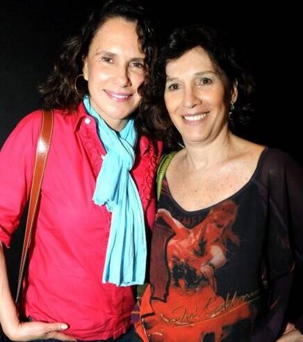 """""""ARCO-ÍRIS"""" — XUXA LOPES E NATÁLIA DO VALLE /Foto: Cristina Granato"""