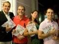 """VOGUE NOIVA"" — EDUARDO GUINLE, OVÍDIO CAVALEIRO, DECCA BRAGA E LEONARDO ARAÚJO /Foto: Paula Kossatz"