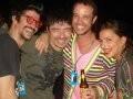 """""""FASHION RIO"""" — JOSE CAMARANO, CARLOS TUFVESSON, LÉO MUQUI E LUCIANA LIMA /Foto: Dani Barbi"""