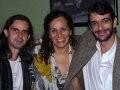 """""""BAR LAGOA"""" — IVAN DE SOUZA, JANDIRA FEGHALI E SACHA RODRIGUES"""