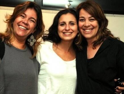 """""""SHOW BENA LOBO E DANIEL GONZAGA"""" — CLARA SORIA ENTRE DULCE E MARIANA LOBO /Foto: Cristina Granato"""