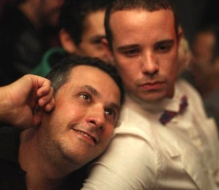 """I LOVE POP"" — ARTHUR MENDES DA ROCHA E LEO MUQUI /Foto: Eduardo Llerena"