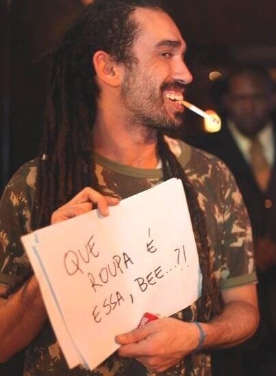 """I LOVE POP"" — RENATO ROSSONI: PERGUNTA BEM RECORRENTE NESSE TIPO DE FESTA /Foto: Eduardo Llerena"