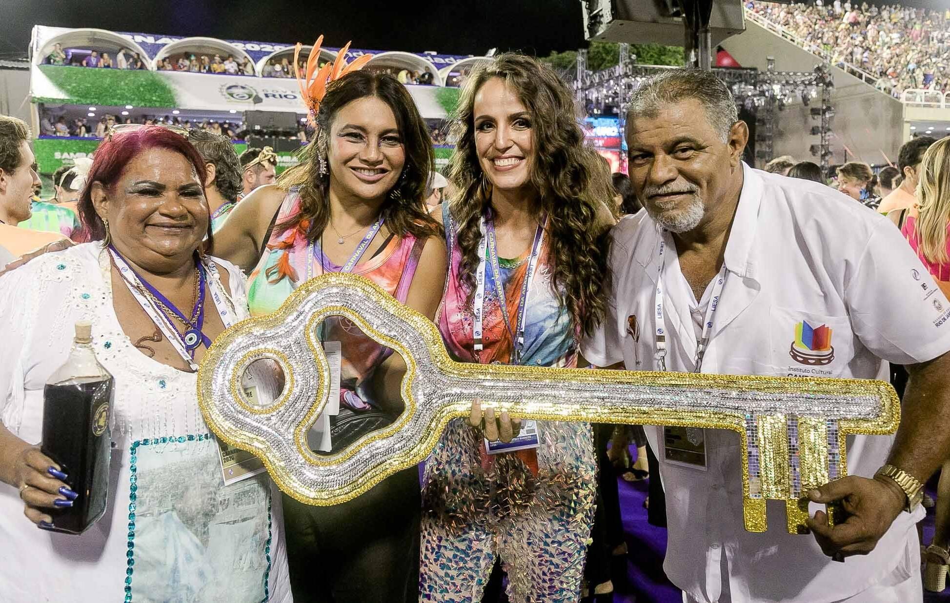 Cristina de Jesus, Dira Paes, Malu Barretto e Mauricio Jesus  /Foto: Bruno Ryfer