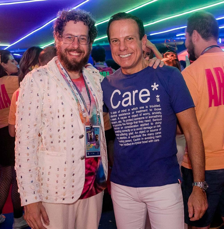 Fabio Carvalho e João Doria  /Foto: Bruno Ryfer