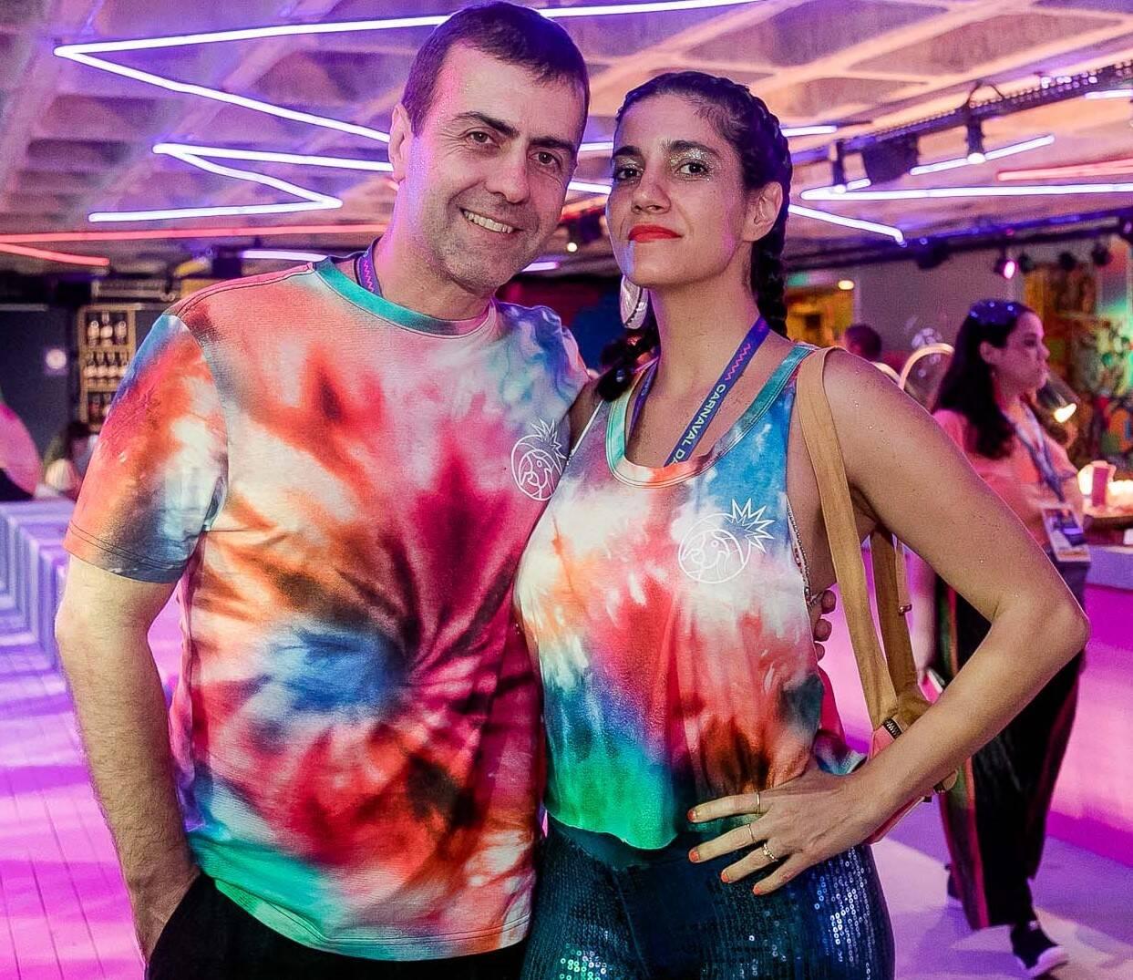 Marcelo Freixo e Antonia Pellegrino  /Foto: Bruno Ryfer