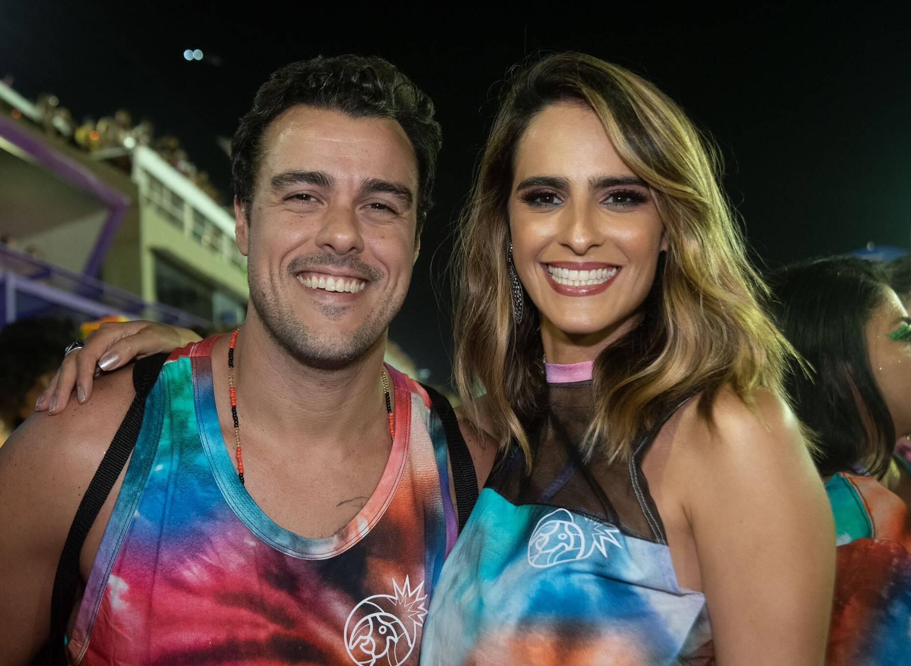 Joaquim Lopes e Marcella Fogaça  /Foto: Bruno Ryfer