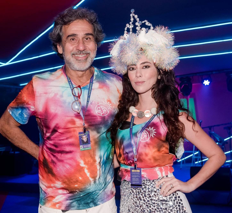 Marcos Prado e Talitha Rossi  /Foto: Bruno Ryfer