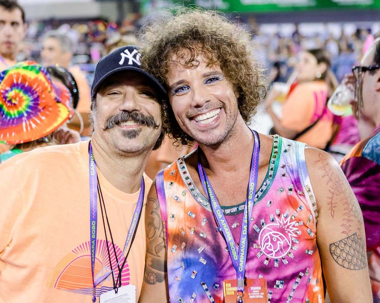 Mauro Lima e Leo Muqui  /Foto: Bruno Ryfer