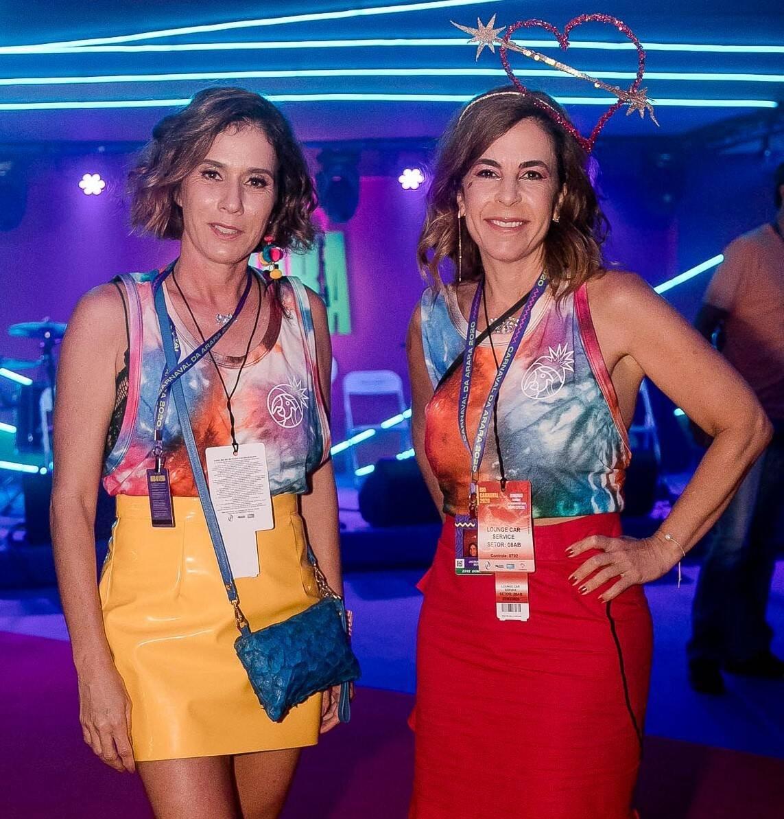 Nazaré Metsavath e Jackie  de Botton  /Foto: Bruno Ryfer