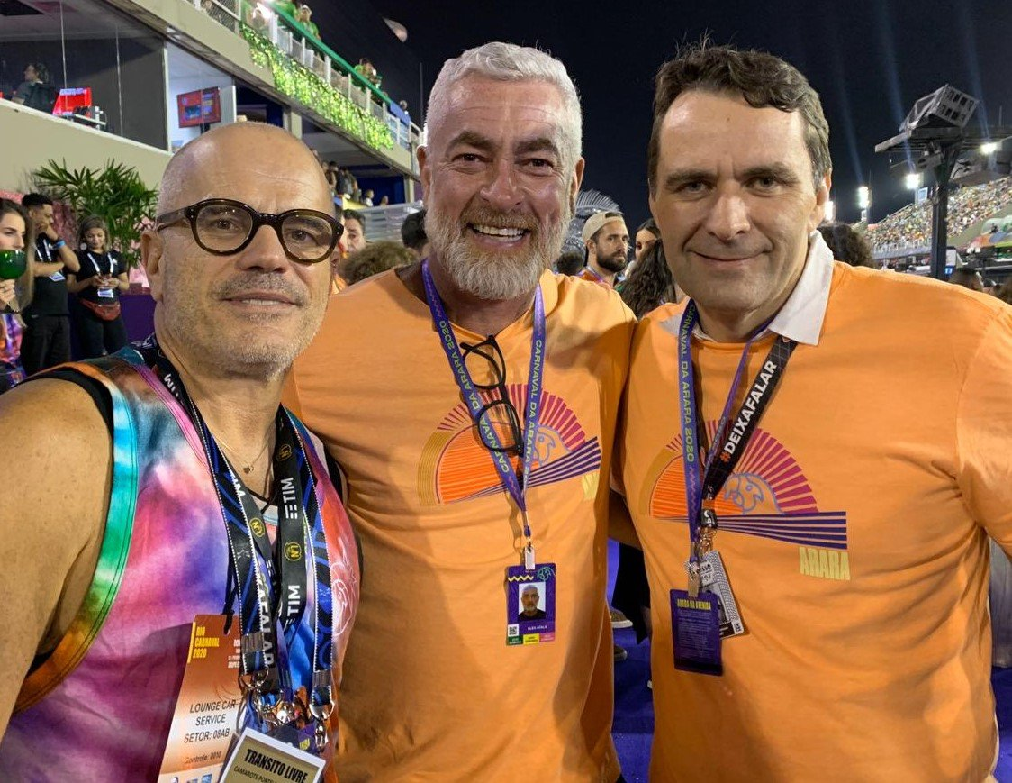 Giovanni Bianco, Alex Atala e Julius Wiedemann /Foto: Lu Lacerda