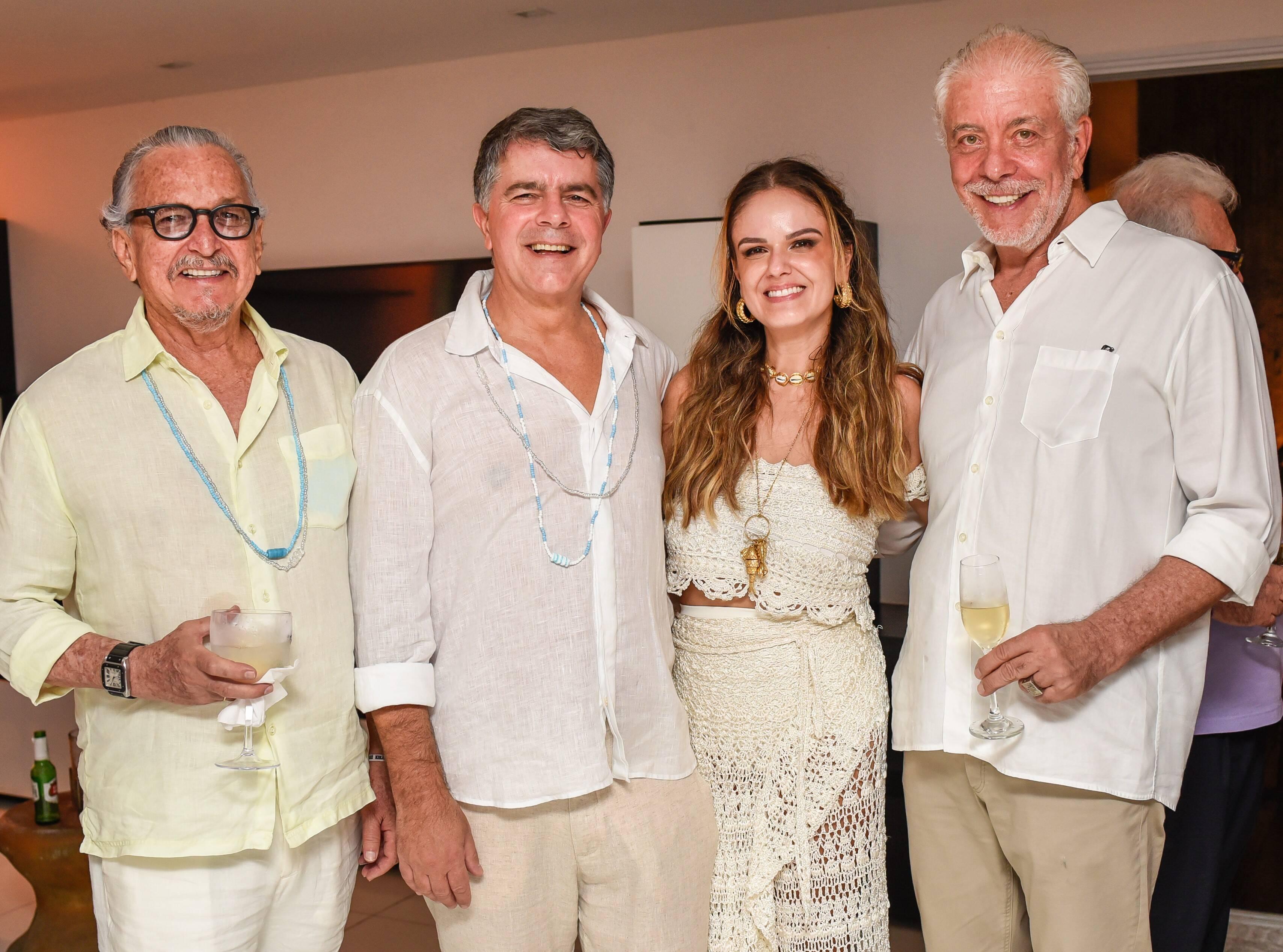 Antenor Barbosa Lima, Avelino Oliveira, Kika Cavalcanti e Antonio Bernardo /Foto: Mariama Prieto