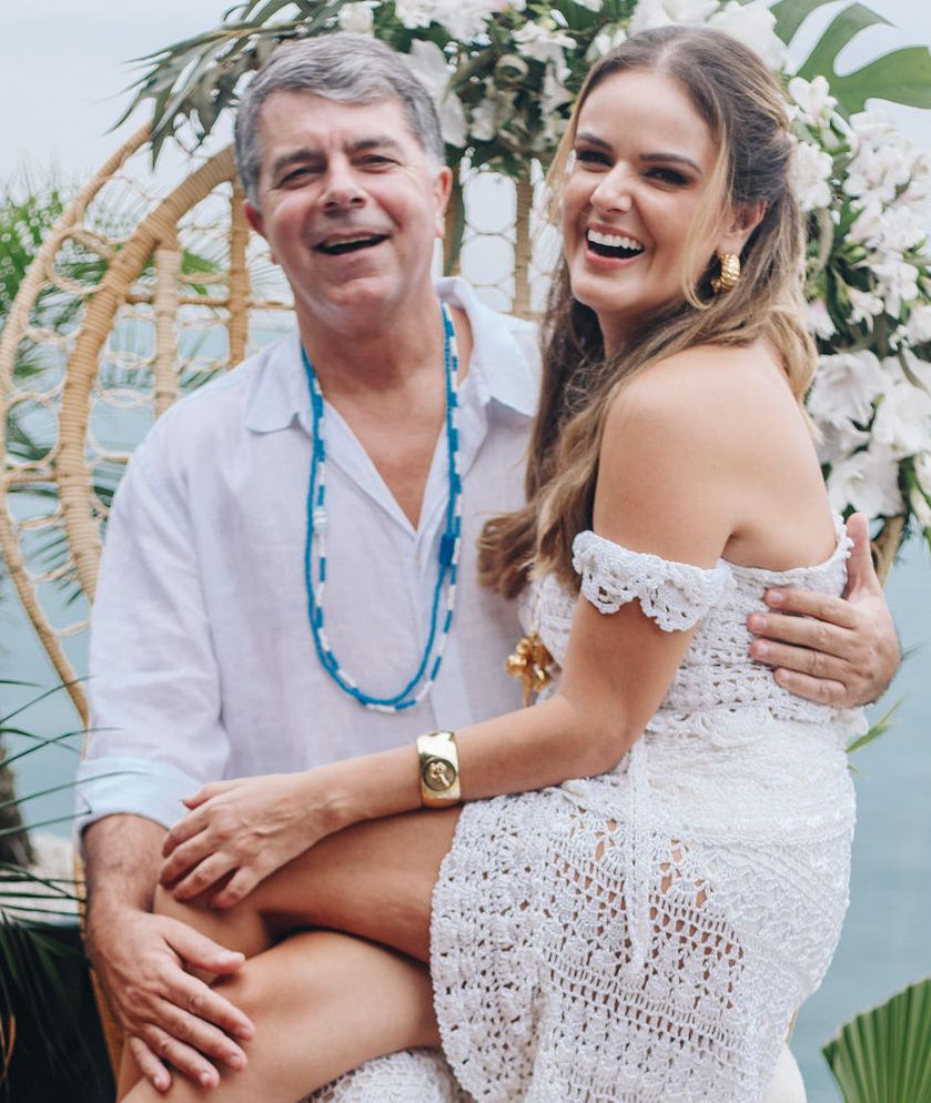 O casal  Avelino Oliveira e Kika Cavalcanti /Foto: Mariama Prieto
