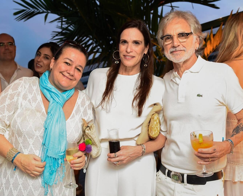 Adriana Stieger, Mika Chermont e Raul Mascarenhas /Foto: Mariama Prieto