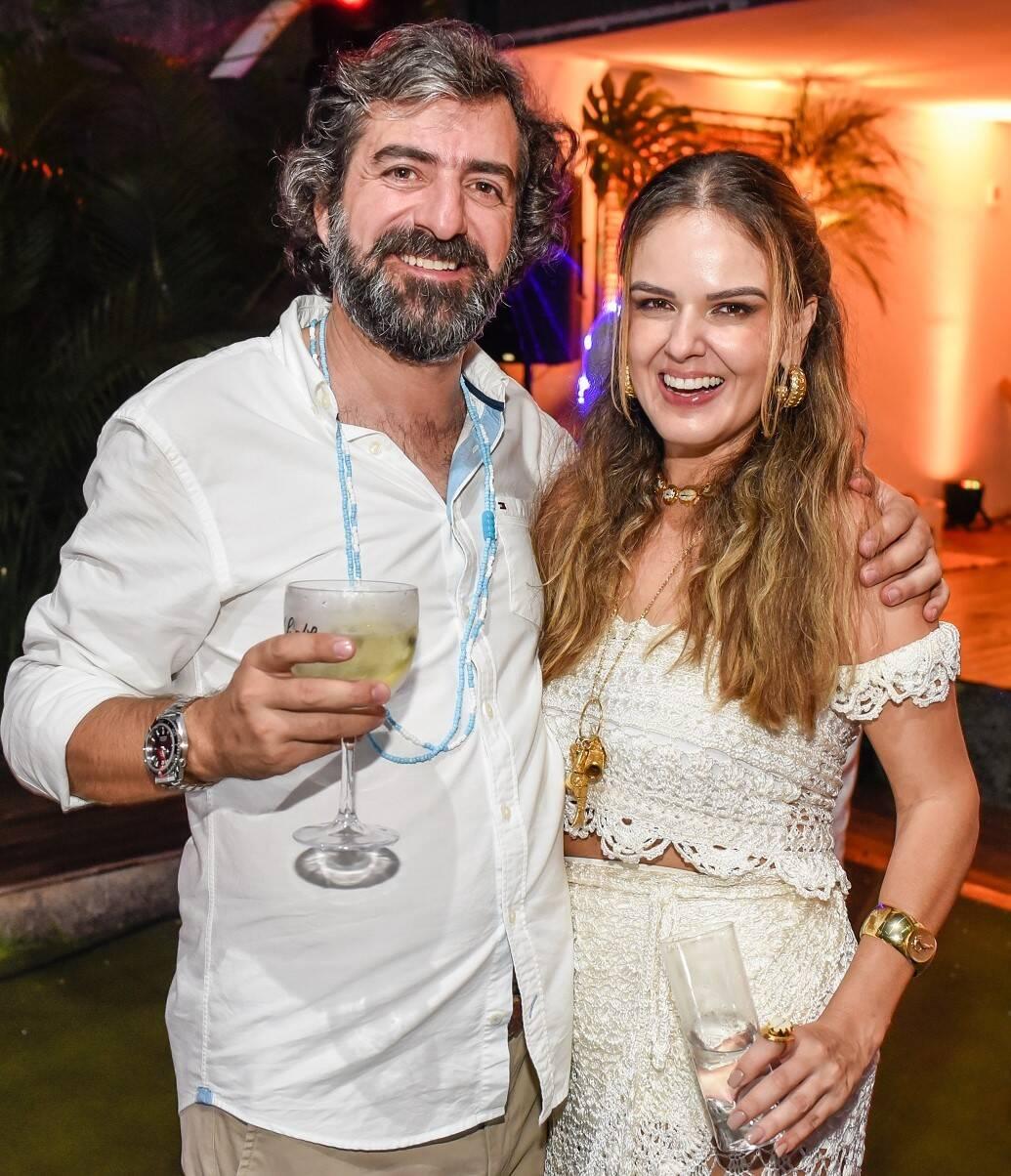 Manuel Fernandes e Kika Cavalcanti /Foto: Mariama Prieto