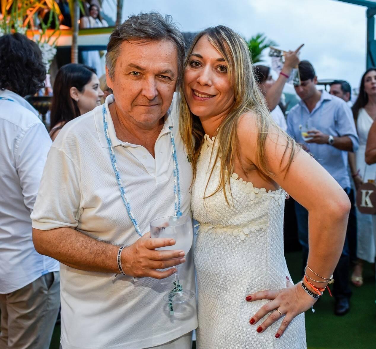 Patrick e Ariana Sabatier /Foto: Mariama Prieto