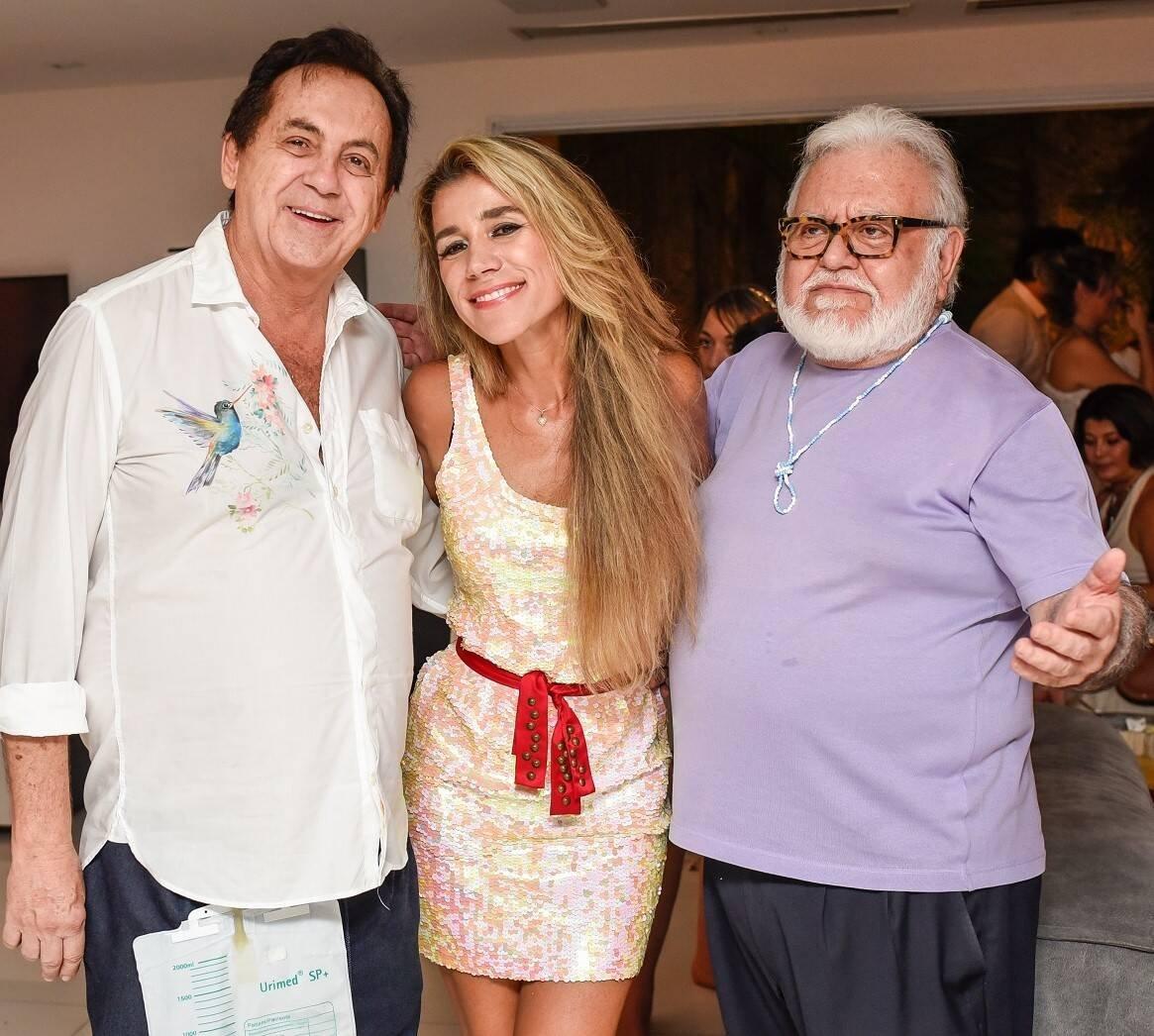Ricardo Rique, Fernanda Capobianco e Ricardo Amaral /Foto: Mariama Prieto