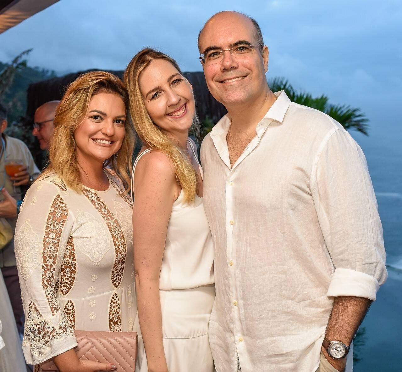 Tatiana Datz, Sophia Galvão e Marcelo /Foto: Mariama Prieto