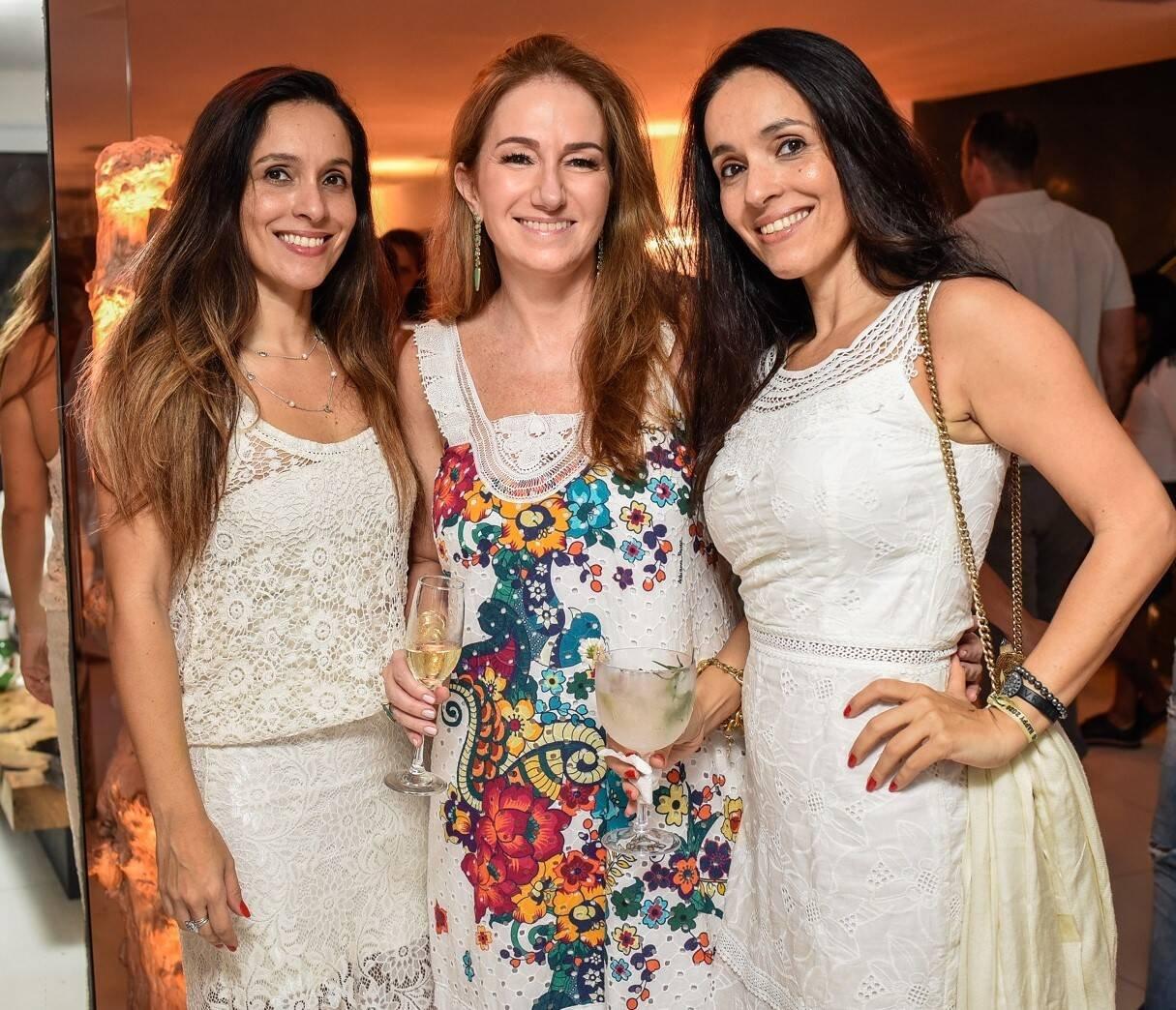 Andrea Meireles, Daniela Fizpan e Daniela Meireles /Foto: Mariama Prieto
