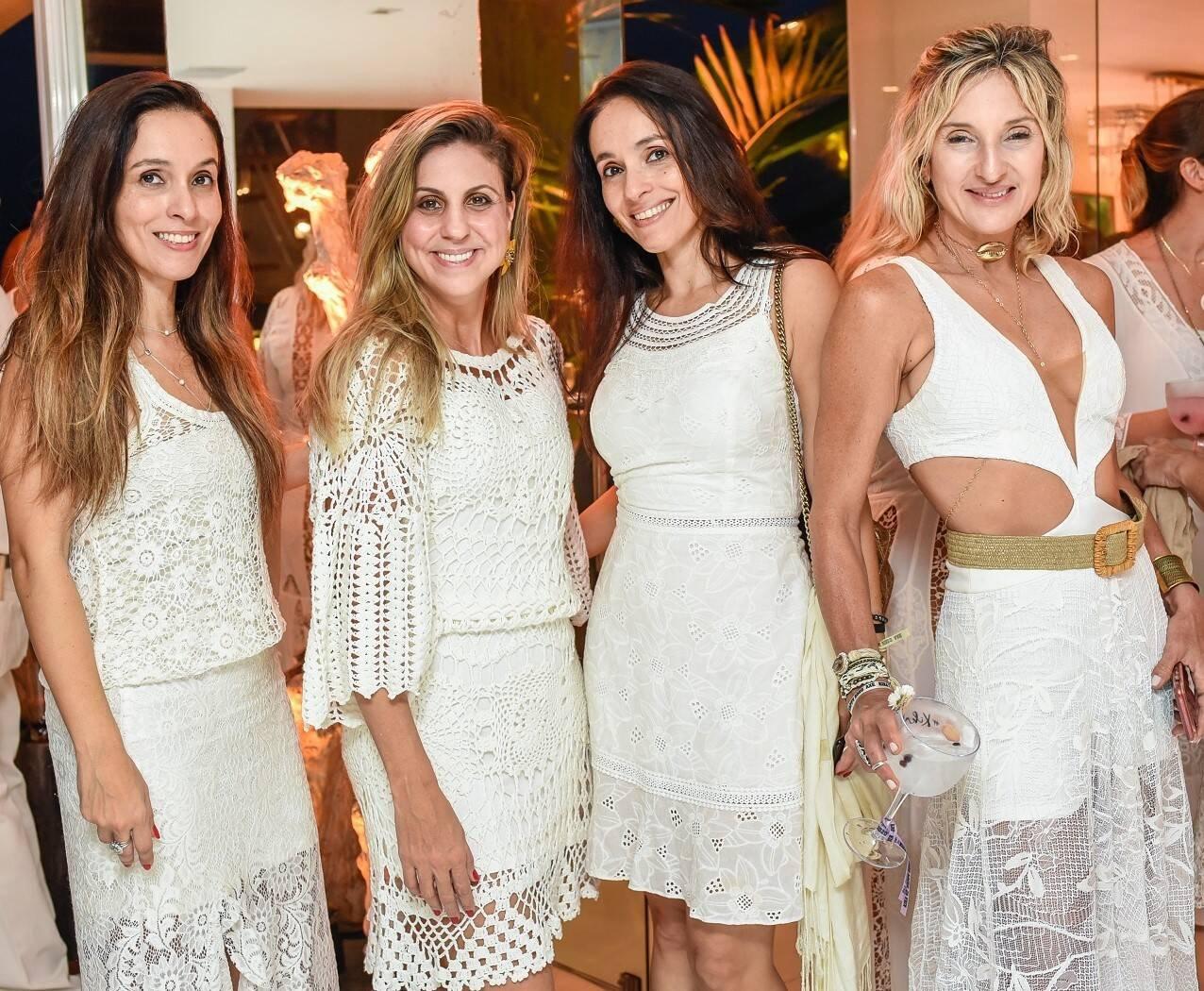Andrea Meireles, Janine Saad, Daniela Meireles e Ursula Mandiano /Foto: Mariama Prieto