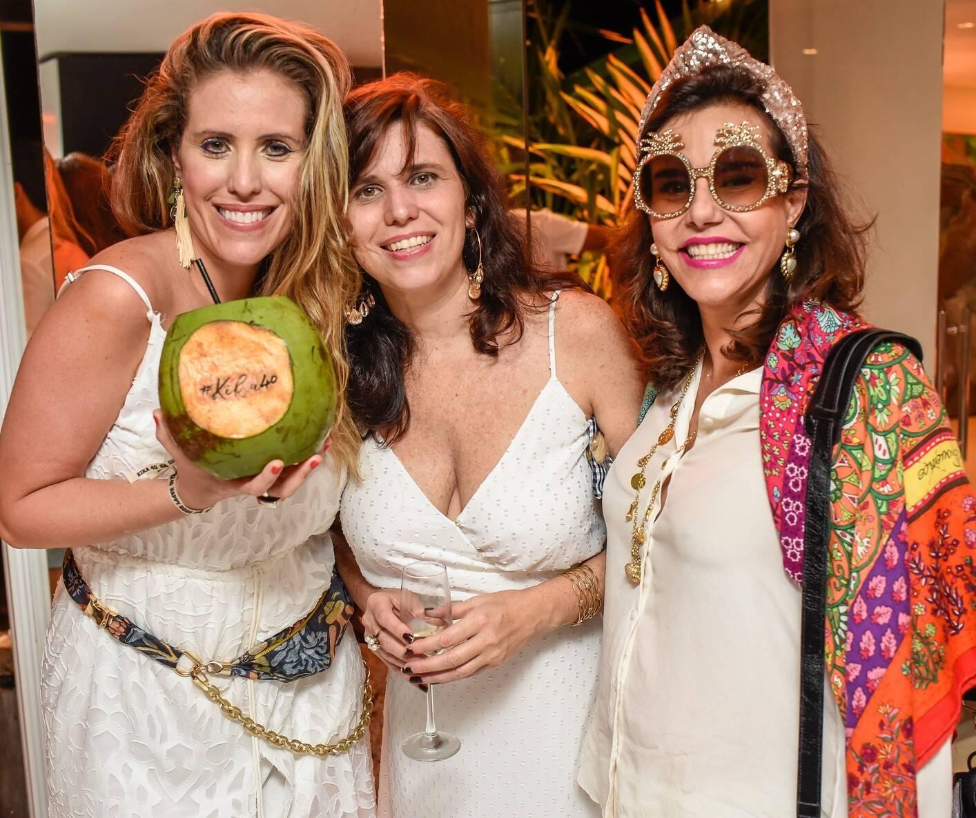 Bruna Barros, Patricia Carneiro e  Narcisa Tamborindeguy /Foto: Mariama Prieto