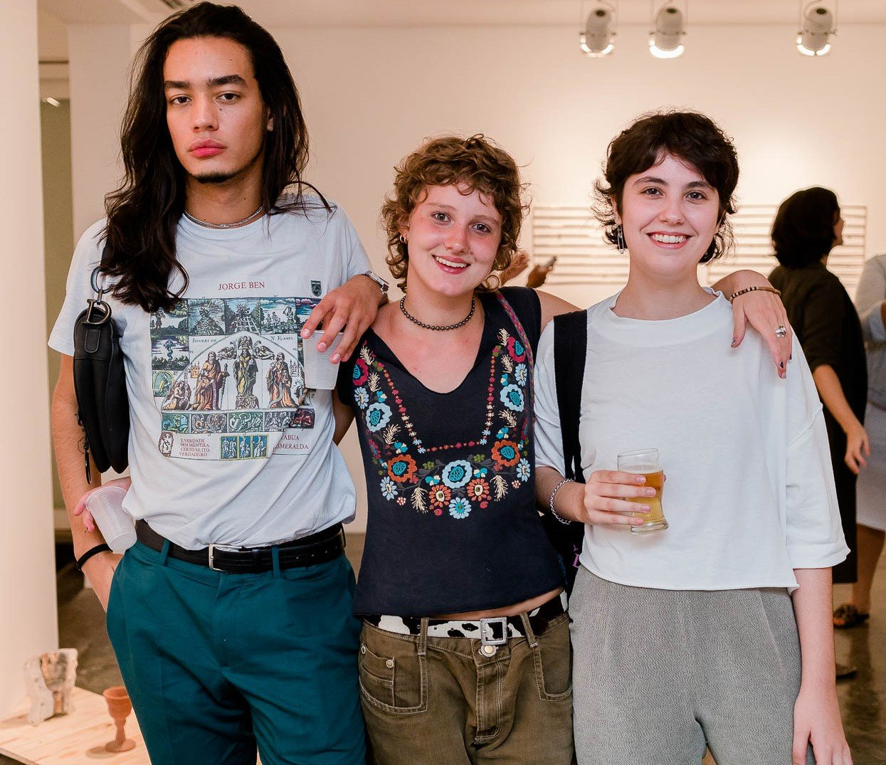 Manuel Oliveira, Joana Galli e Isadora Schtruk  /Foto: Bruno Ryfer