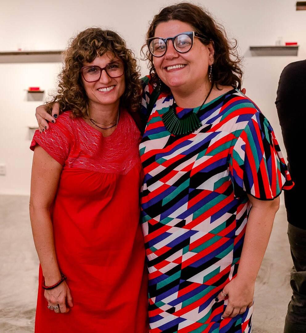 Patricia Gôuvea e Daniela Name  /Foto: Bruno Ryfer
