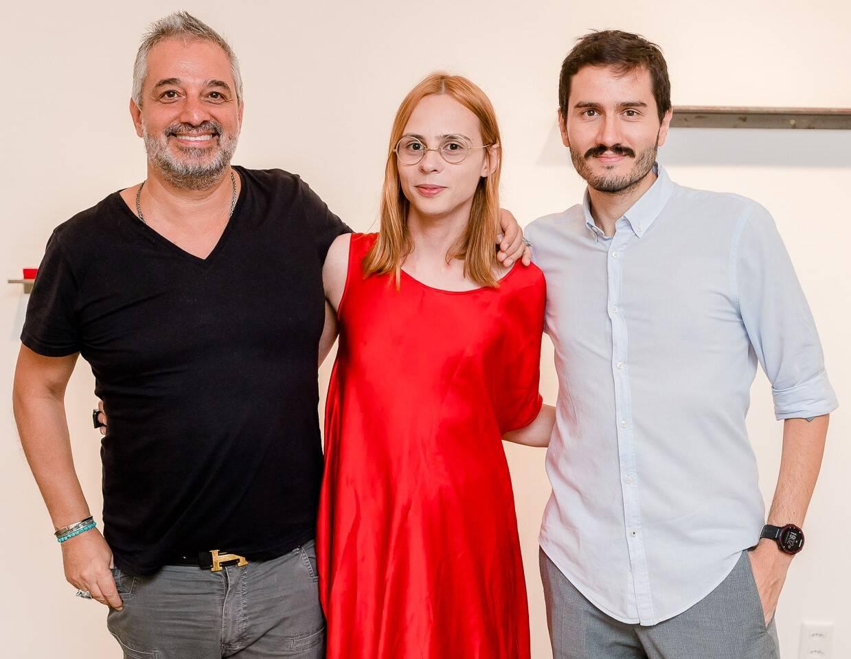 Ronaldo Simões, Élle de Bernardini e Ivan Grilo  /Foto: Bruno Ryfer