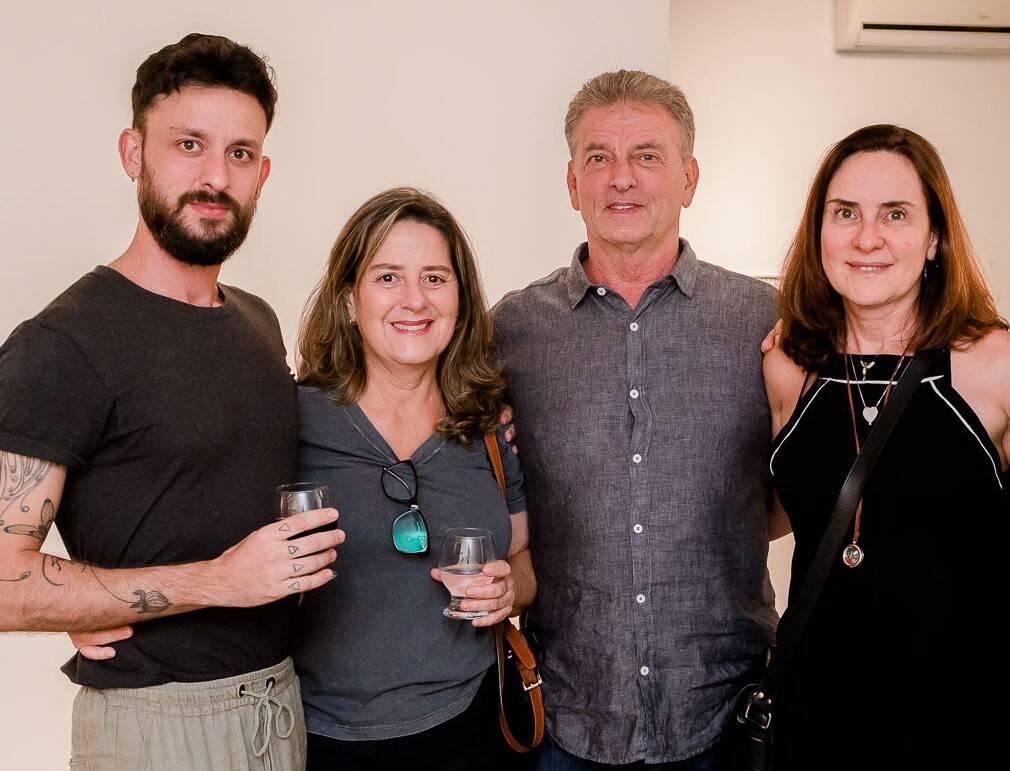 Victor Curi, Lizie Bordallo, Eduardo Curi e Andrea Bordallo  /Foto: Bruno Ryfer