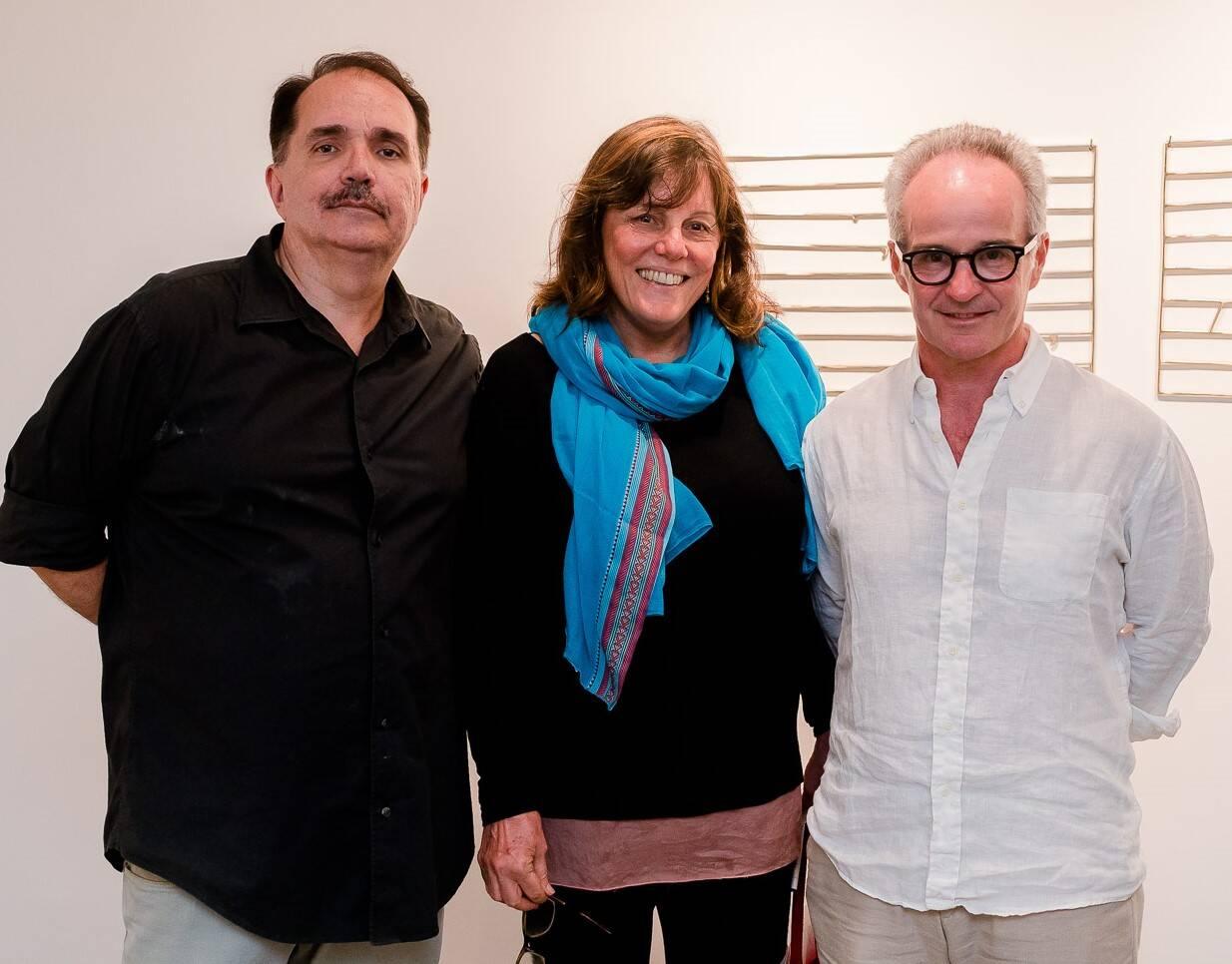 Fred Chinelli, Viviane Soares de Sampaio Rafael Montes de Oca  /Foto: Bruno Ryfer