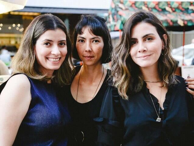 Camila Rocha, Renata Jay e Camila Assreuy