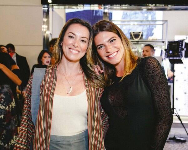 Fabíola Cabral e Mariana Goldfarb