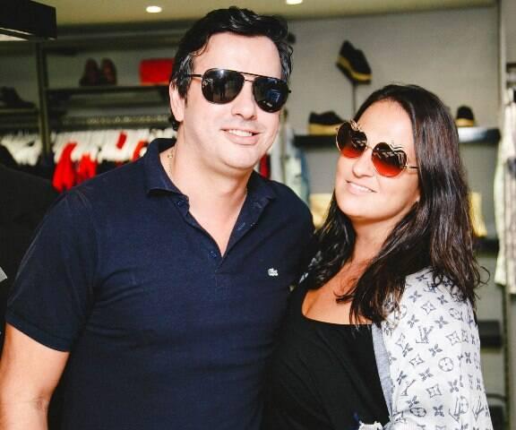 Ricardo Dale e Fernanda Teixeira de Mello