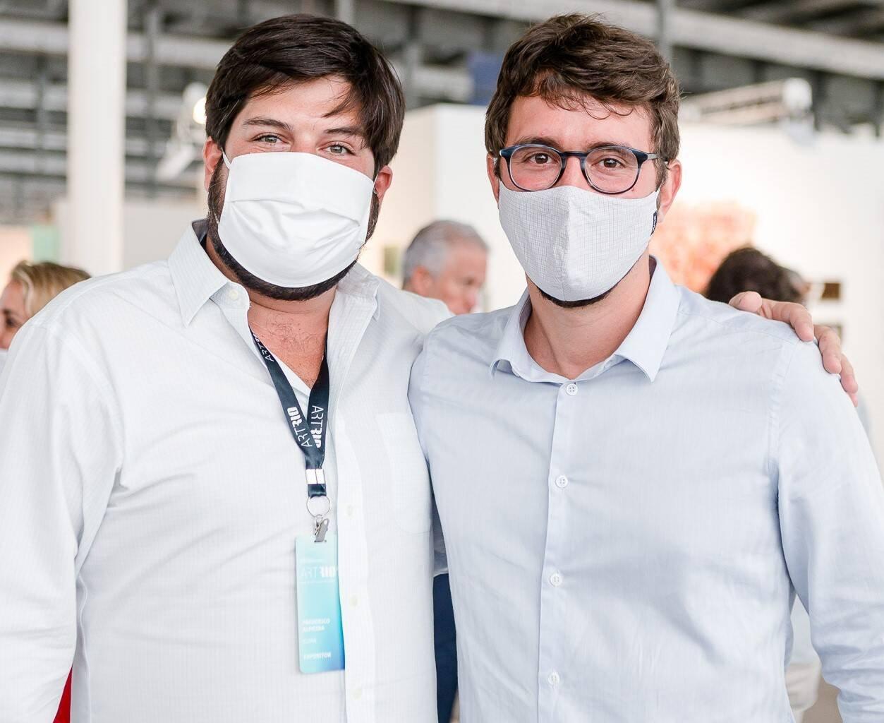 Frederico Almeida e Gabriel Sauer /Foto: Bruno Ryfer