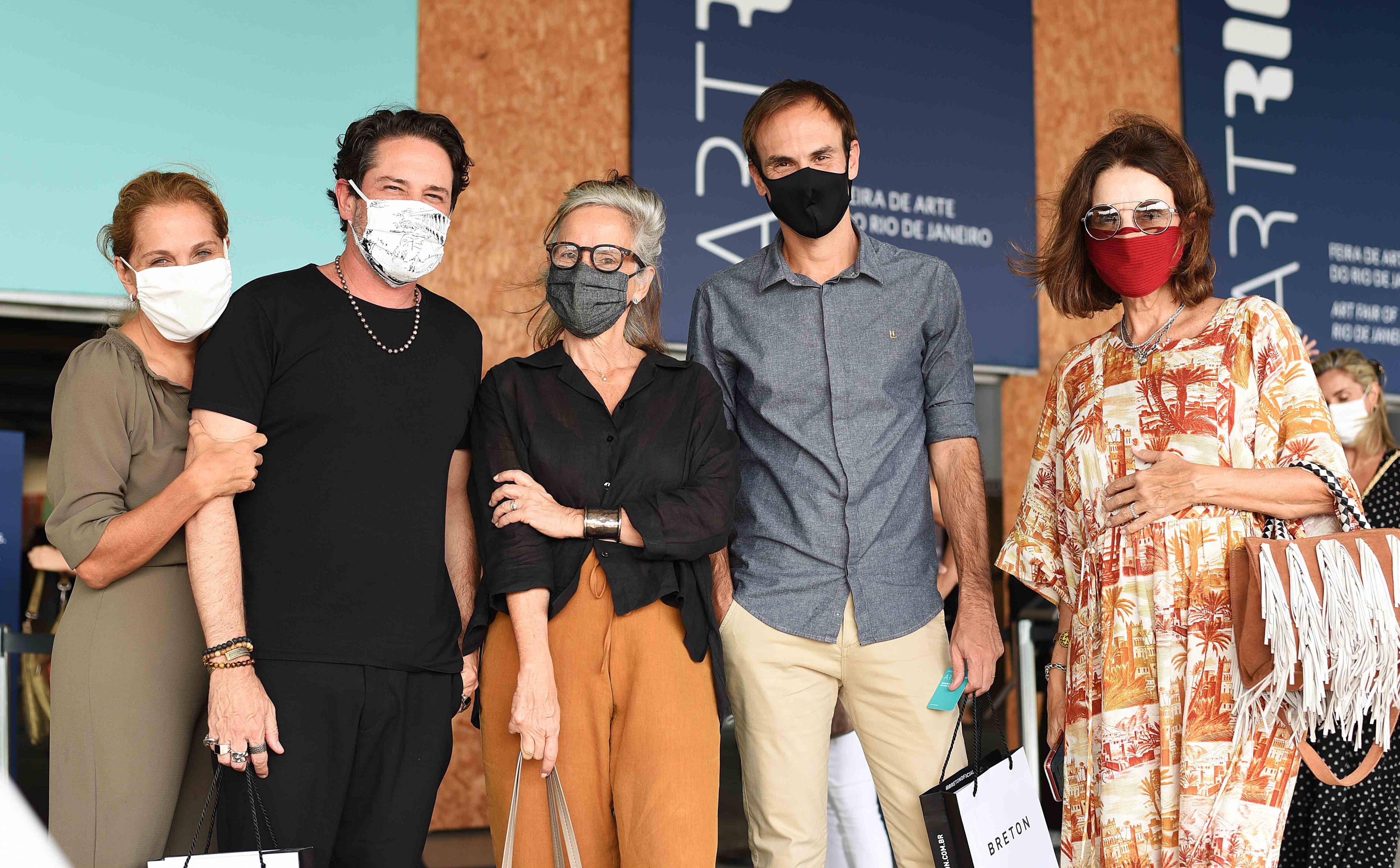 Bebel Sampaio, Celso Rayol, Patricia Quentel, Fernando Costa e Patricia Mayer /Foto: Ari Kaye