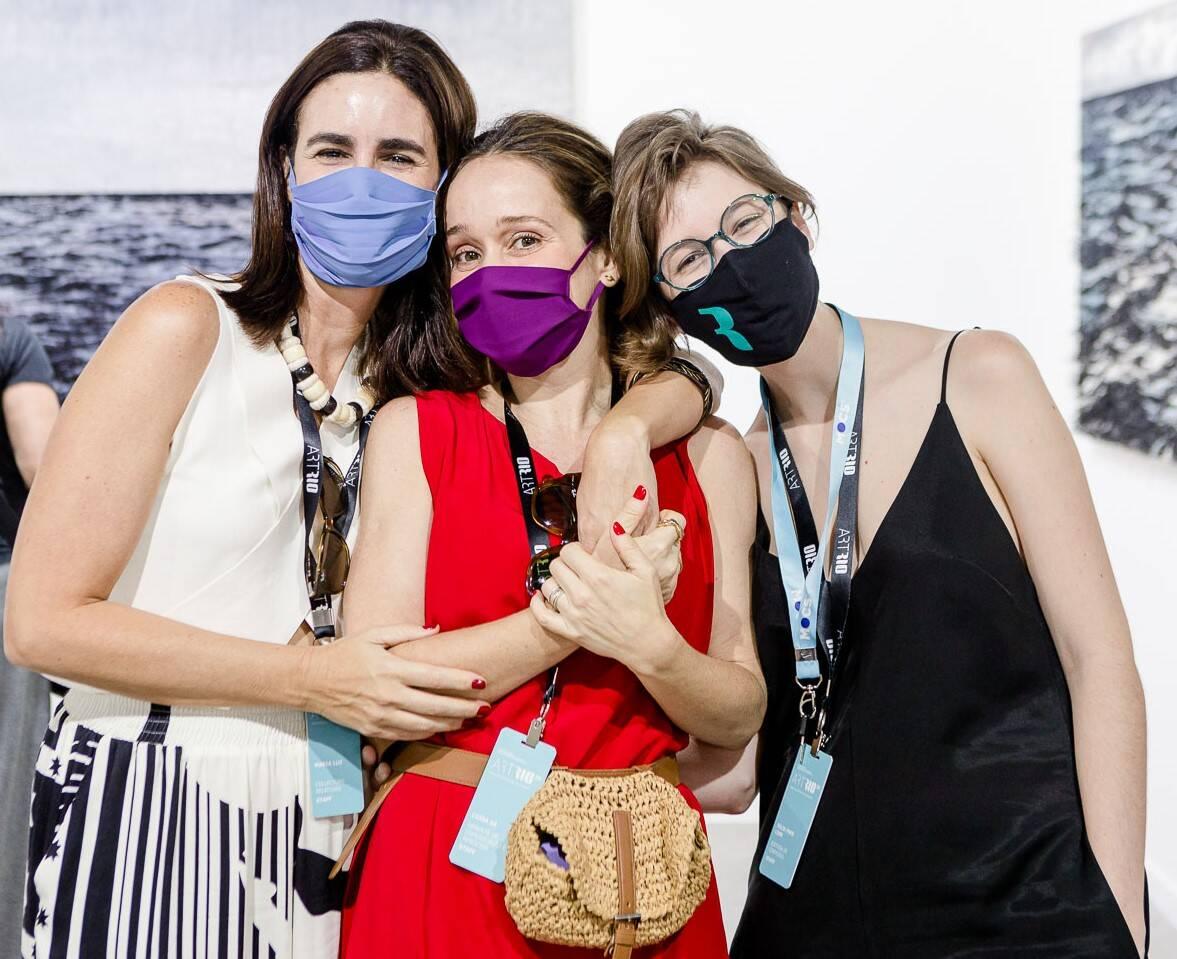 Maria Luz, Luiza Sá e Julia Paes Leme /Foto: Bruno Ryfer