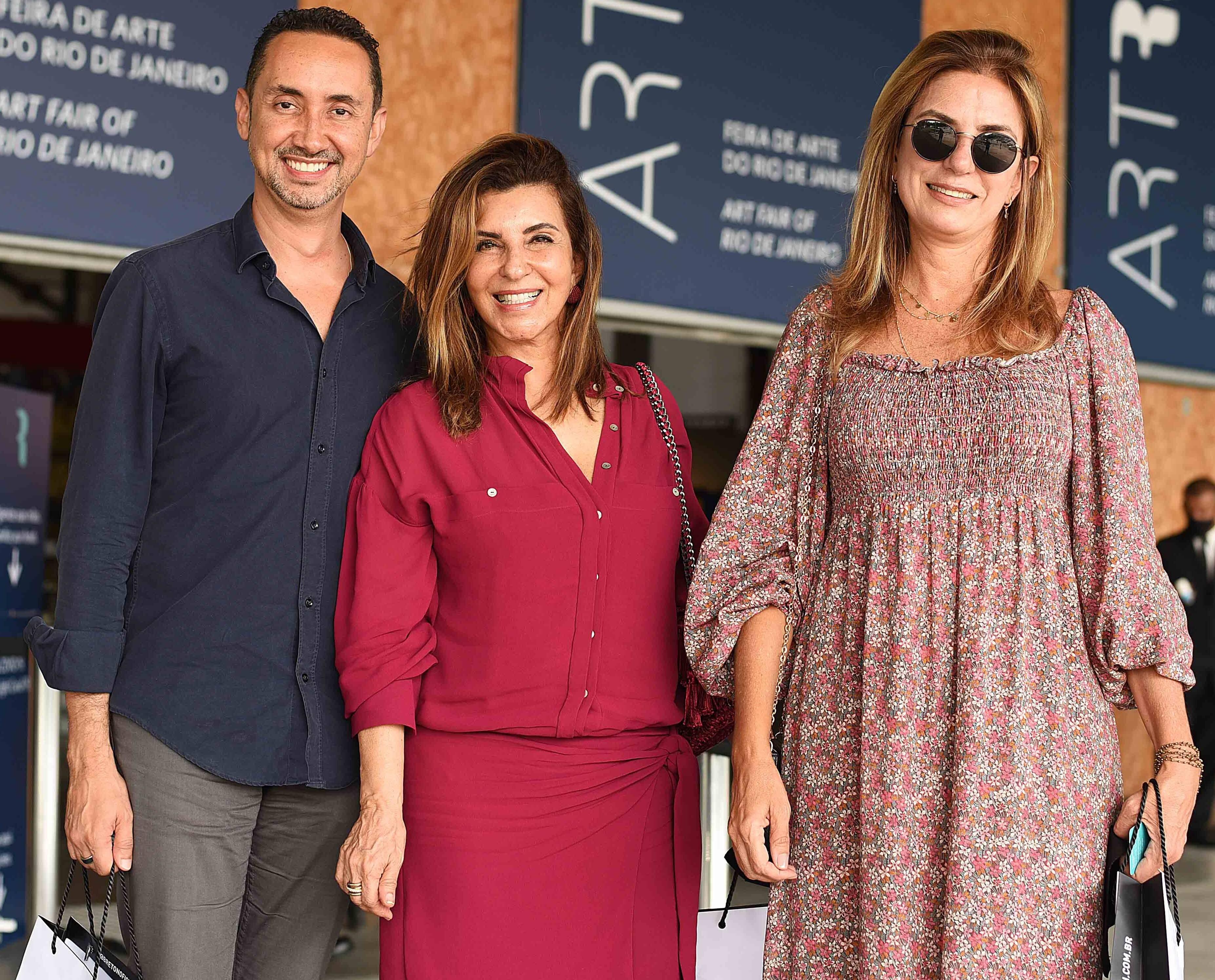 Emerson Araújo, Lenora Lohrisch e Monica Gervasio /Foto: Ari Kaye