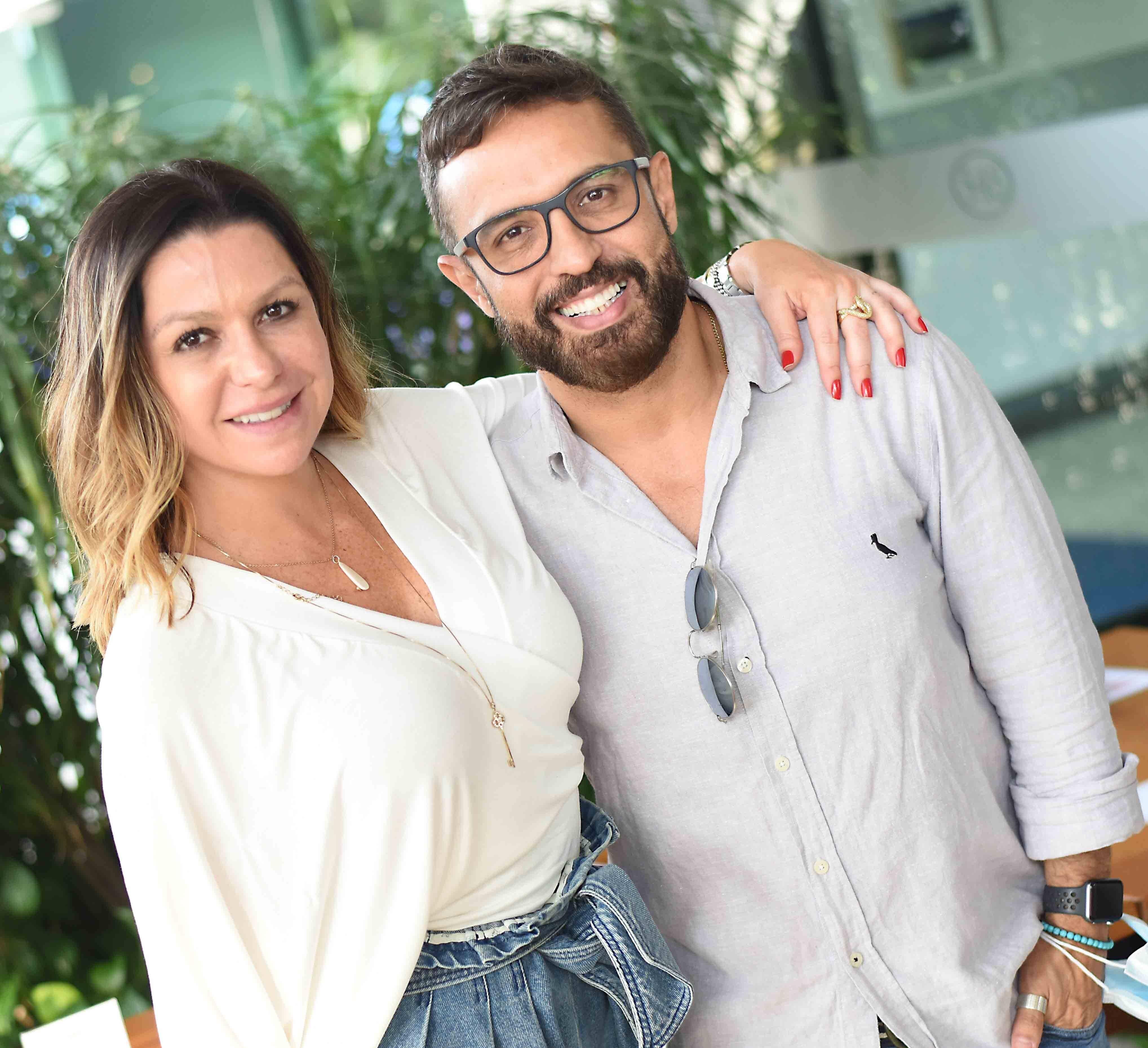 Amanda Ambrosio e Alexandre Cardim  /Foto: Breton/Ari Kaye