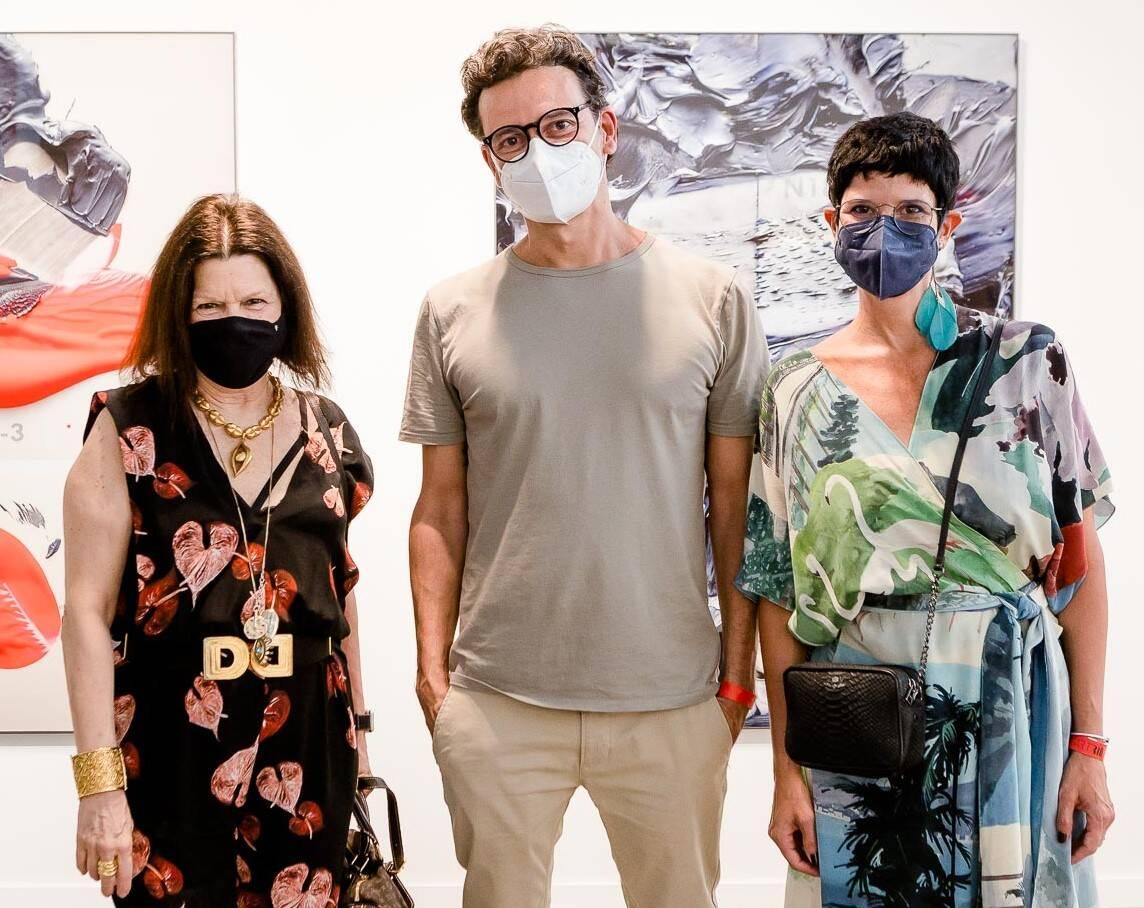 Vanda Klabin, Daniel Mattar e Bebel Moraes /Foto: Bruno Ryfer