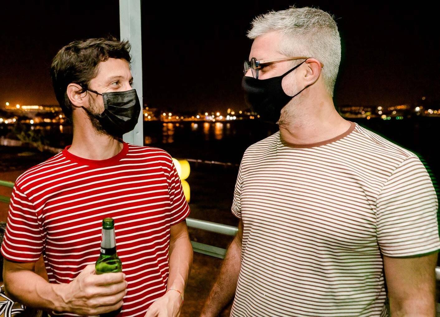 Bruno Natal e Paulo Satamini /Foto: Bruno Ryfer