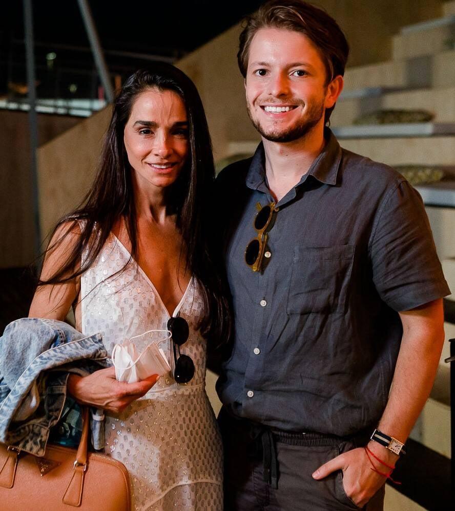 Cris de Lamare e Victor Niskier /Foto: Bruno Ryfer