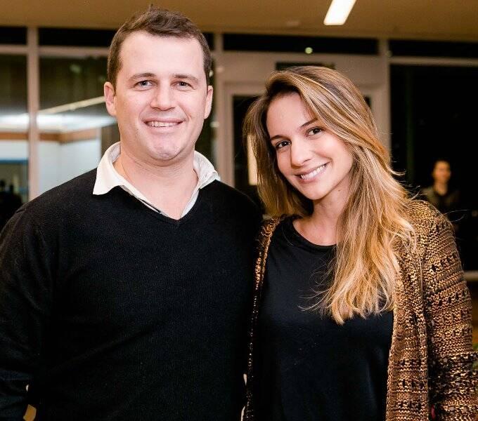 François Czyba e Manoela Barcellos