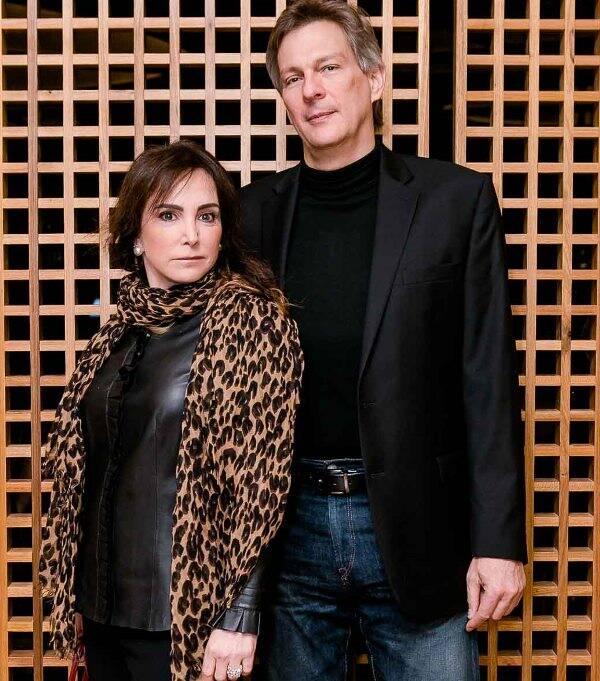 Paulo Bandeira e Kiki Perelmuter