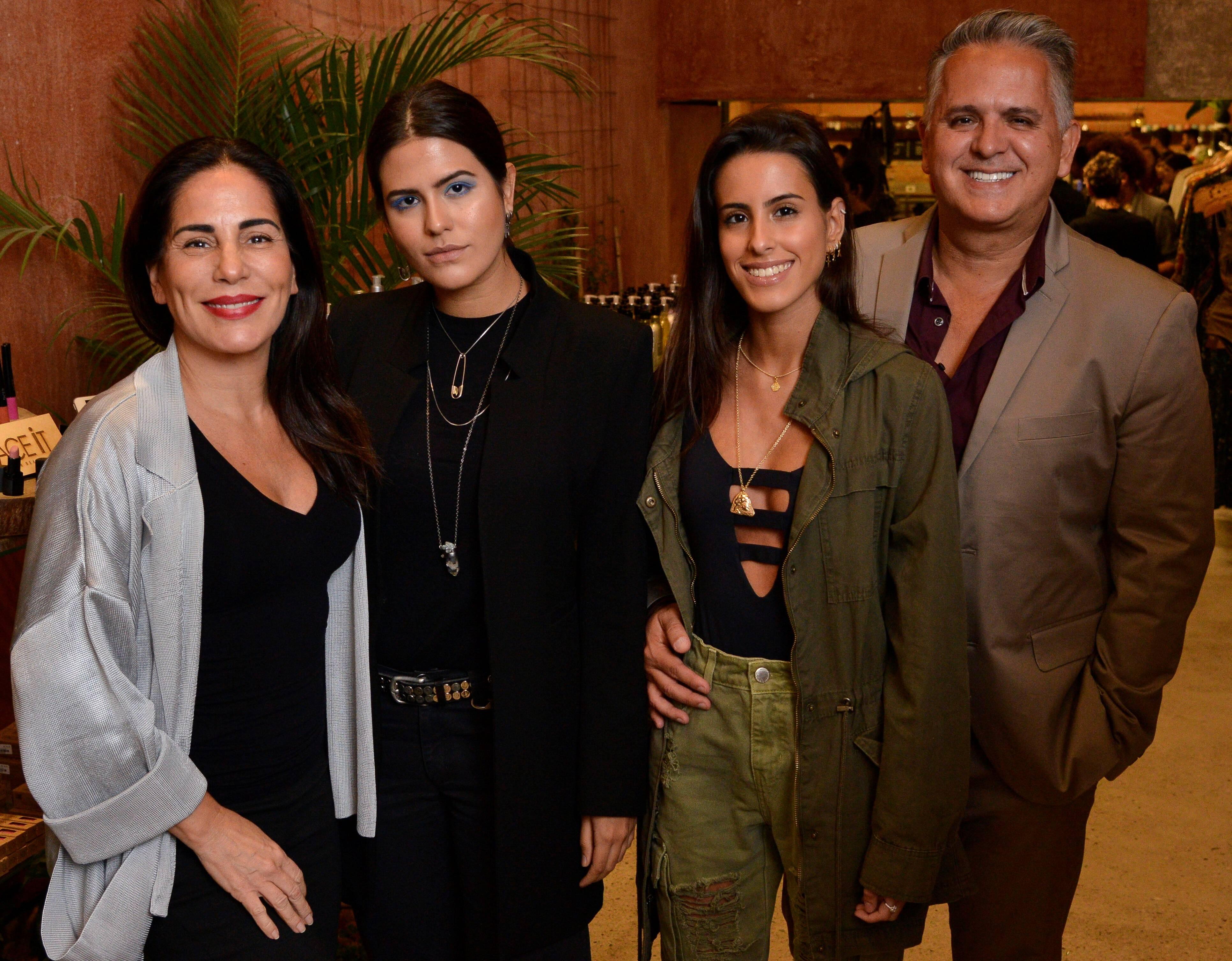 Glória Pires, Antonia Morais, Ana Morais e Orlando Morais /Foto: João Sal
