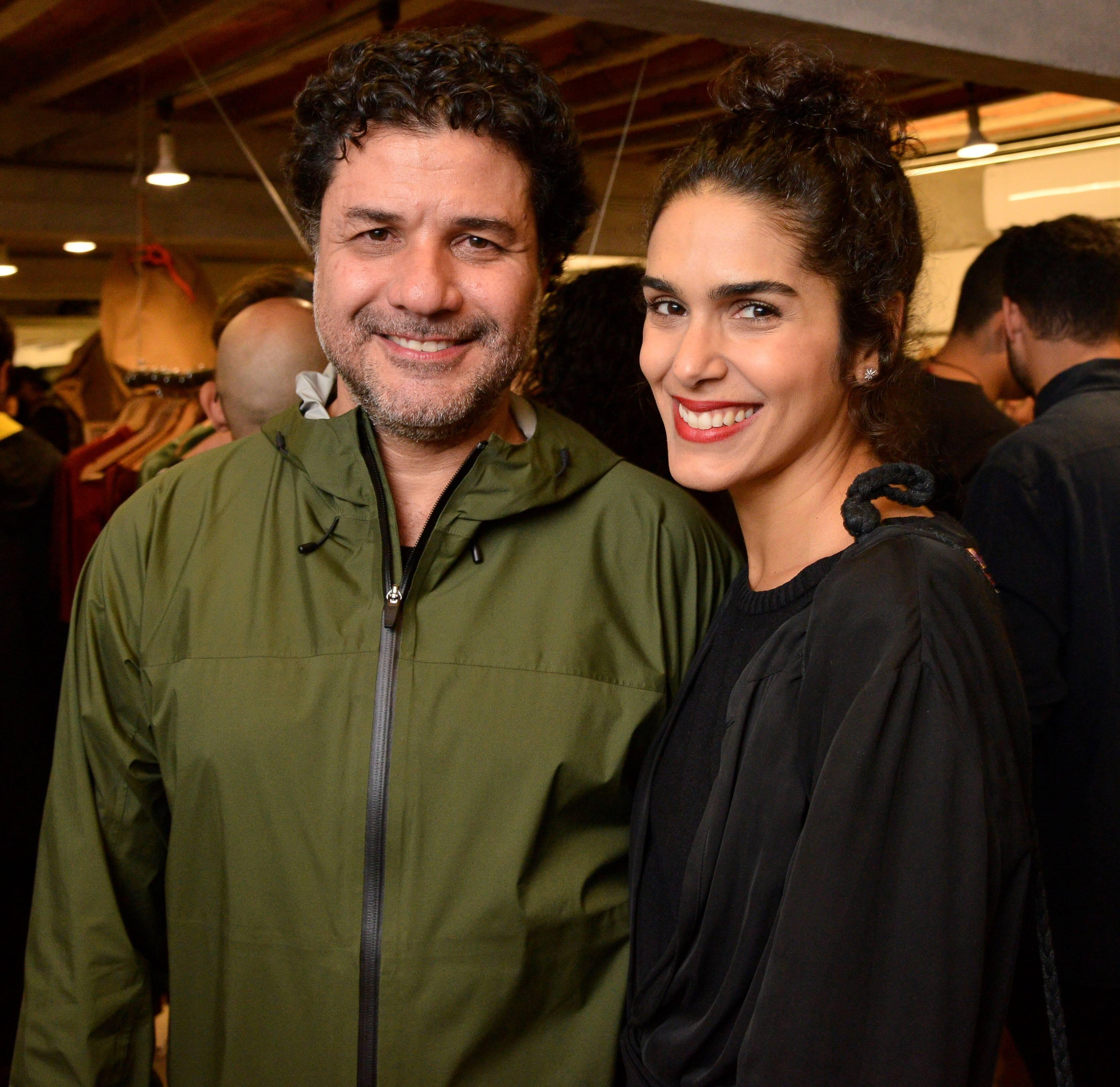 Alexandre Pernet e Leticia Veloso  /Foto: João Sal