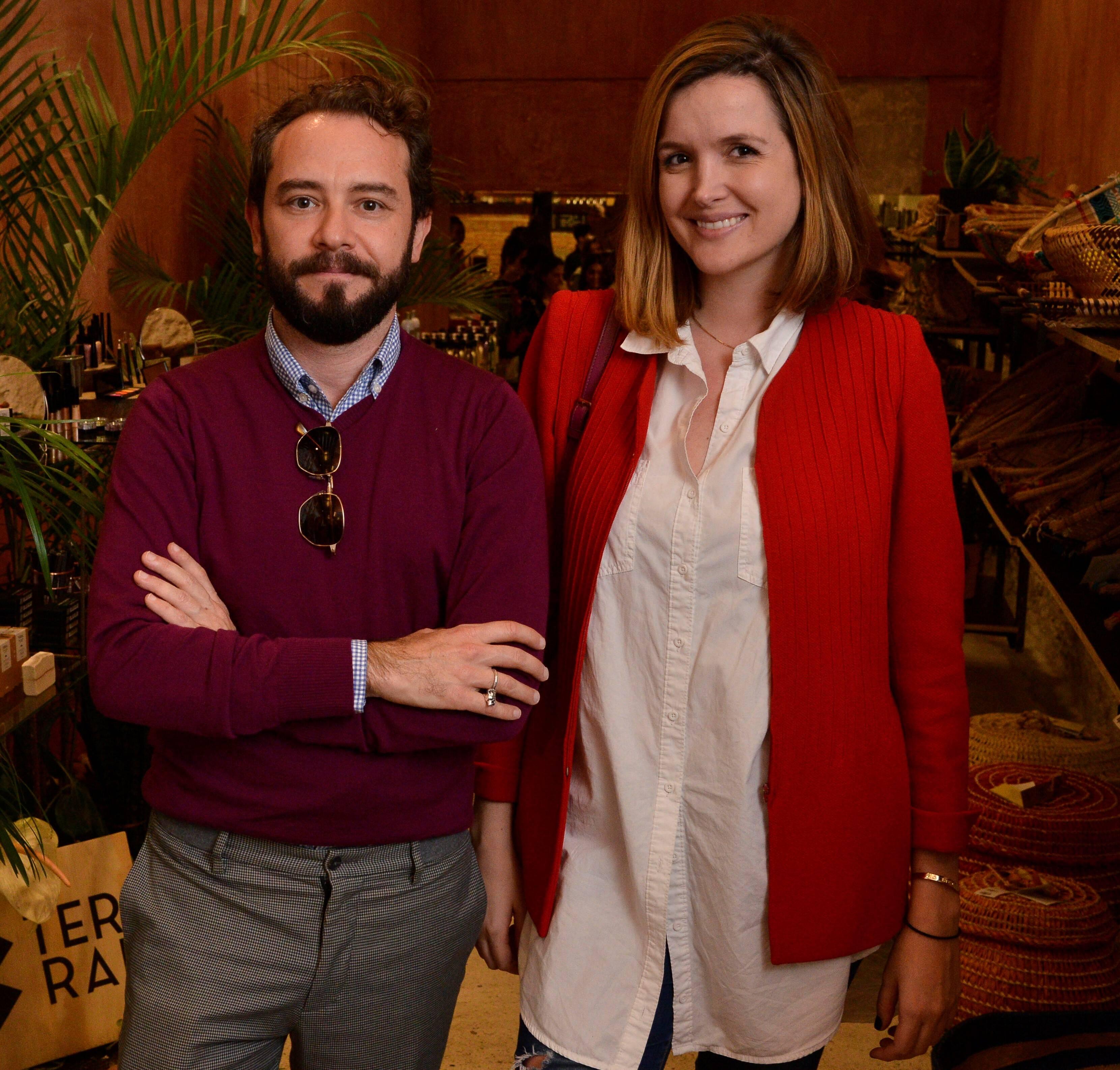 Jeff Ares e Isabella Barbieri  /Foto: João Sal