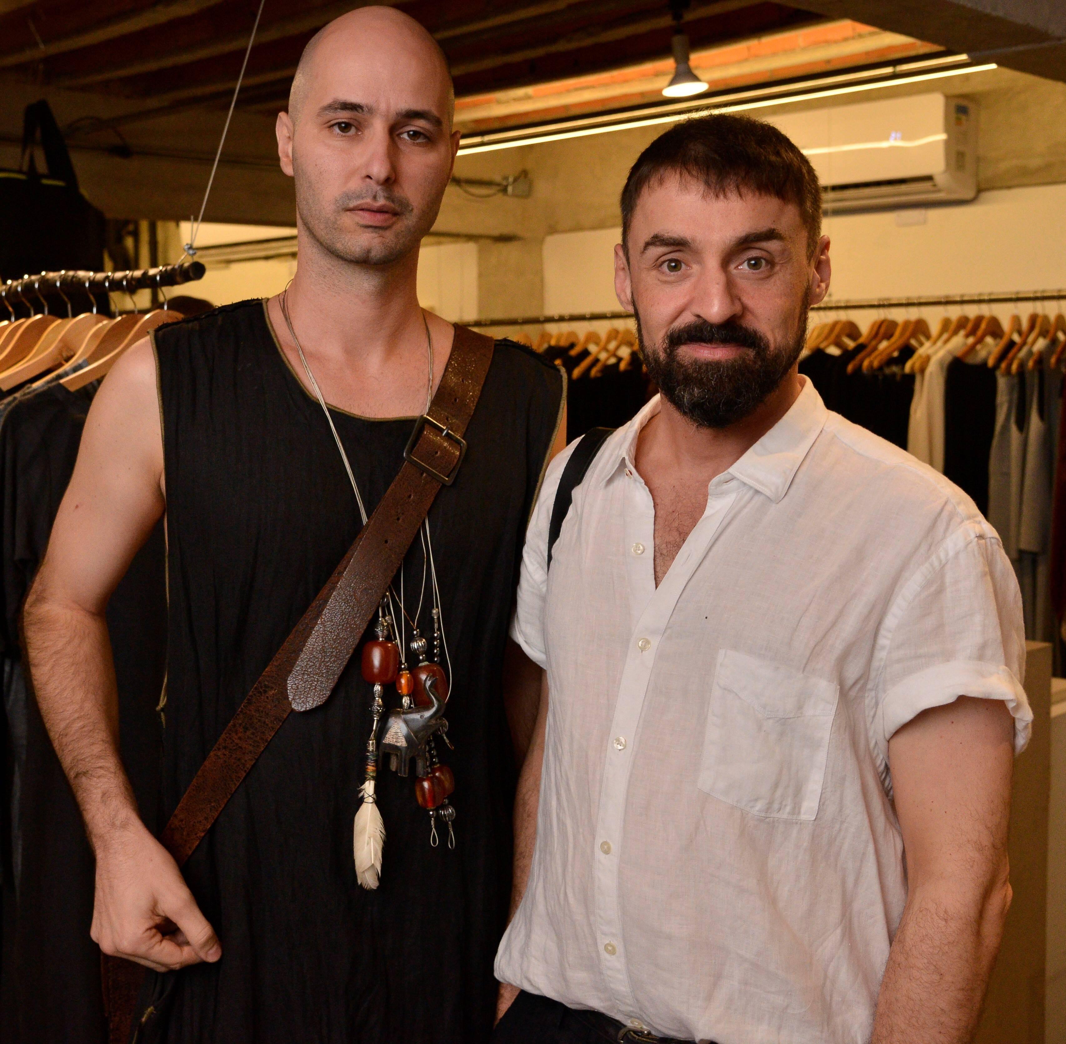 Marco Barboza e Fabio Andreoni  /Foto: João Sal