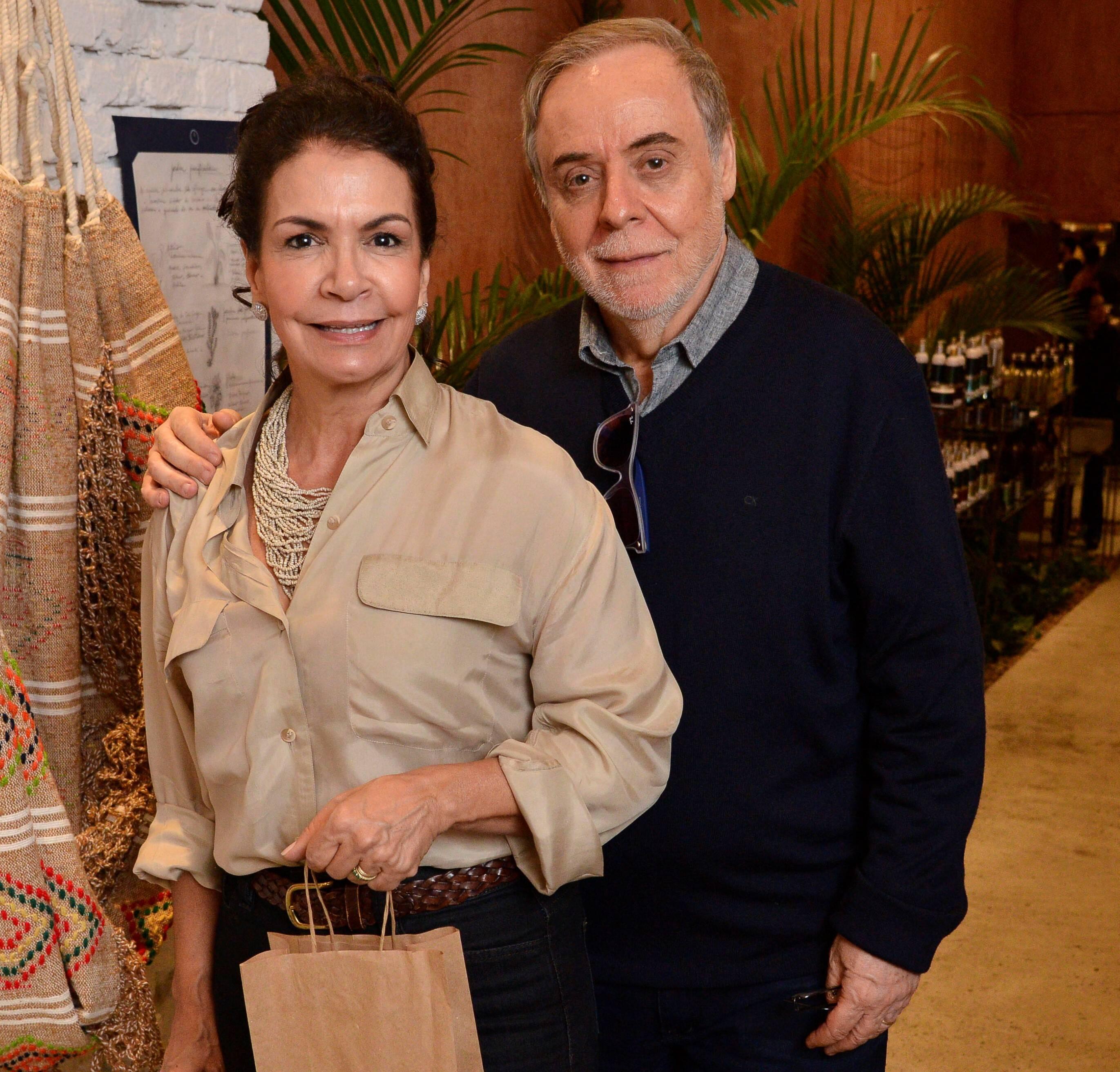 Rosangela e Indalecio Santisteban  /Foto: João Sal