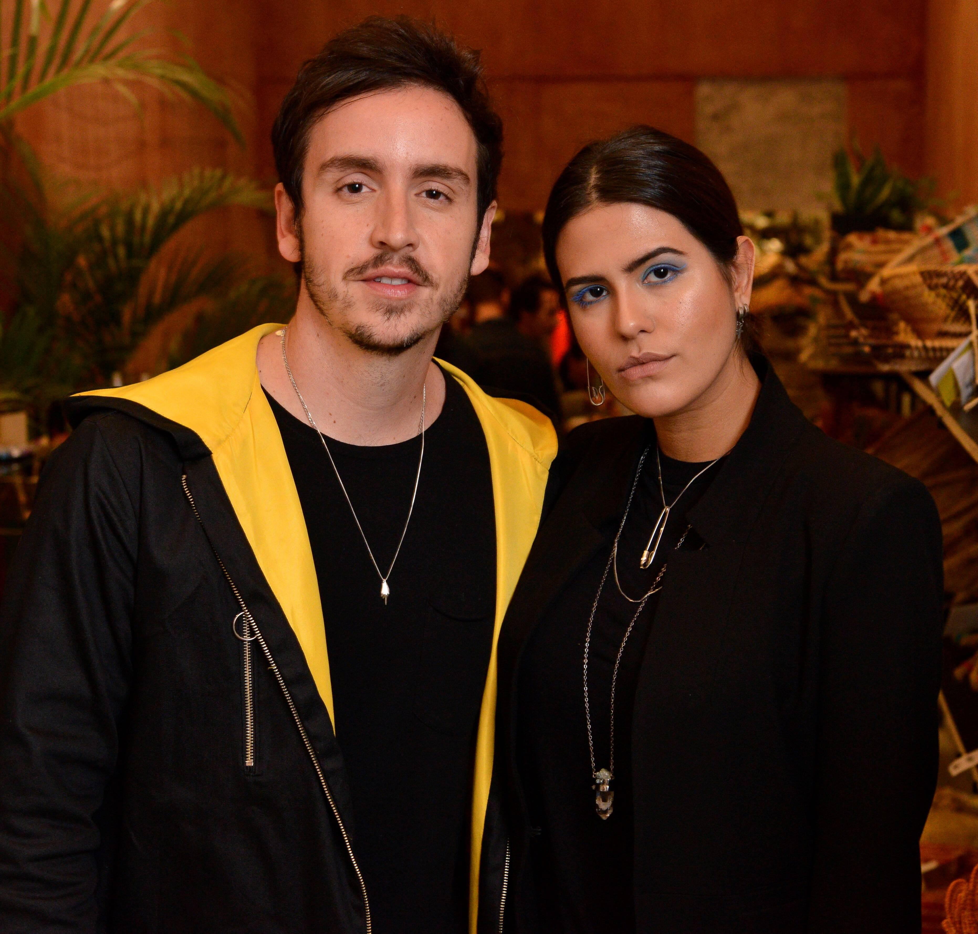 Wagner Santisteban e Antonia Morais  /Foto: João Sal
