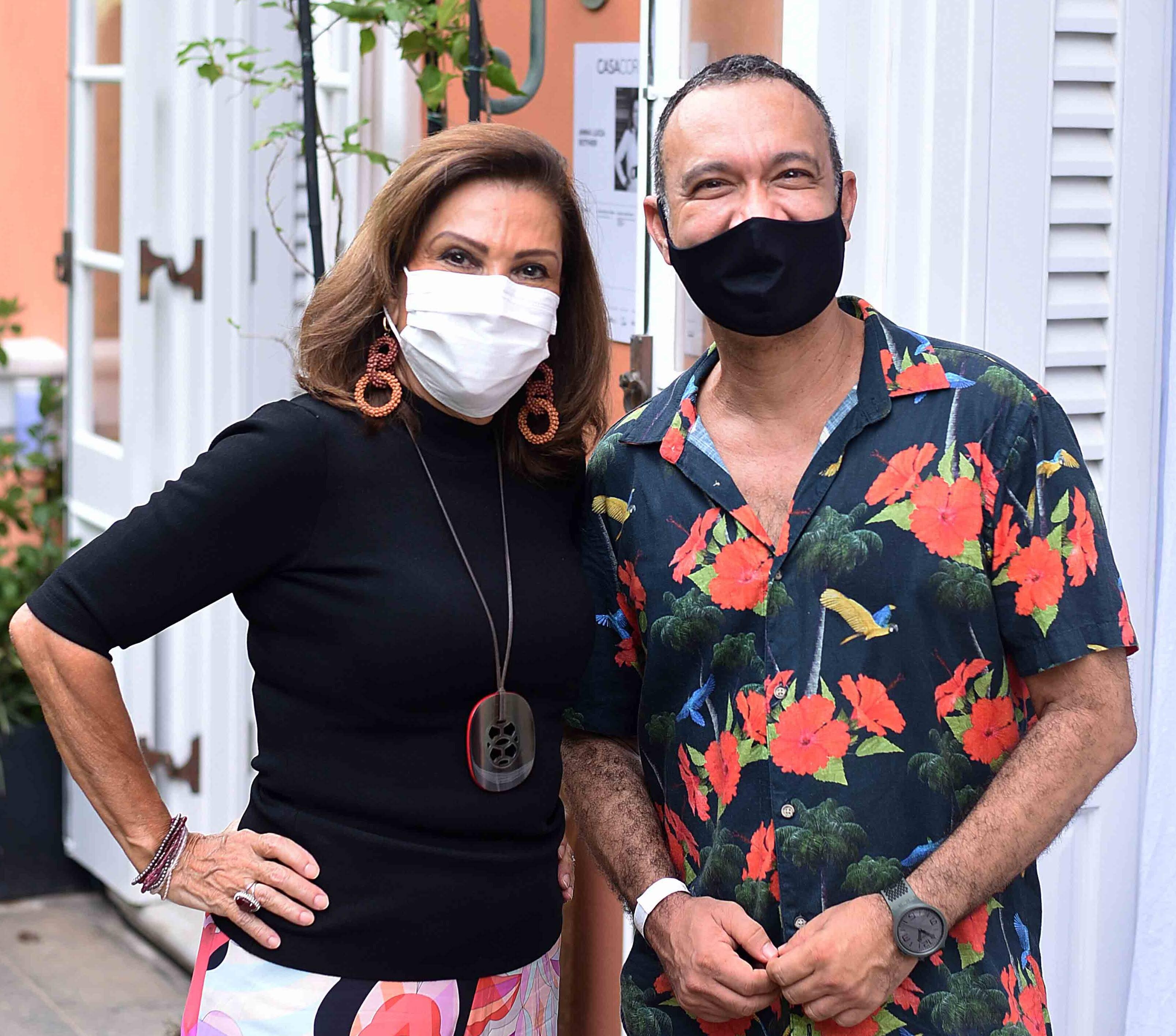Anna Luiza Rothier e Fabio Júdice /Foto: Ari Kaye